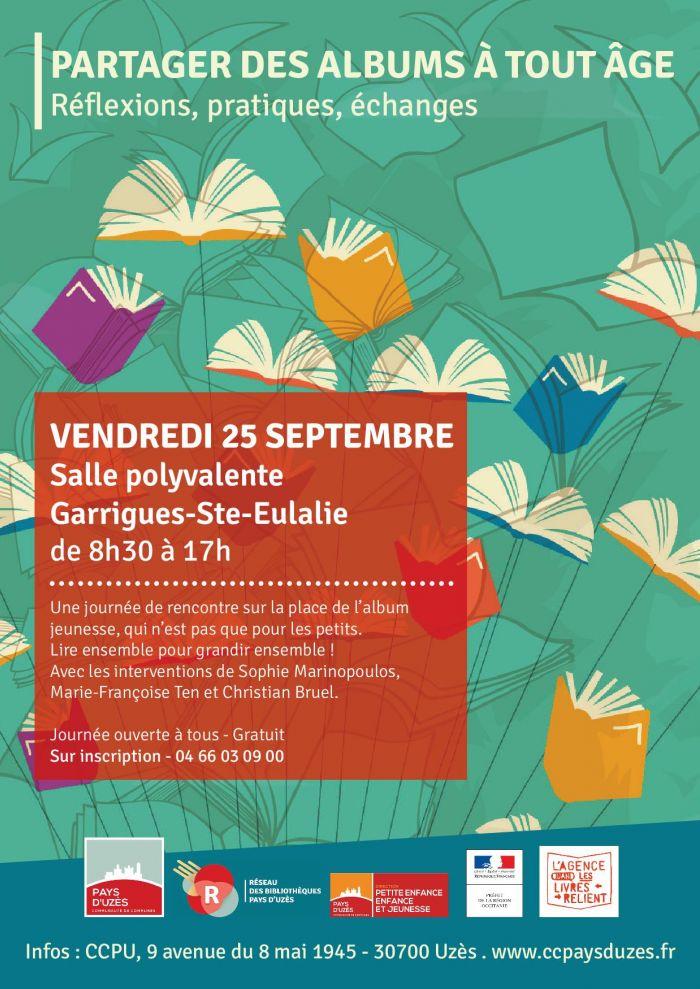 Journée de rencontres « Partager des albums à tout âge » à Garrigues Ste Eulalie