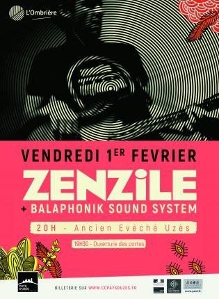 Concert Zenzile + Balaphonik Sound System