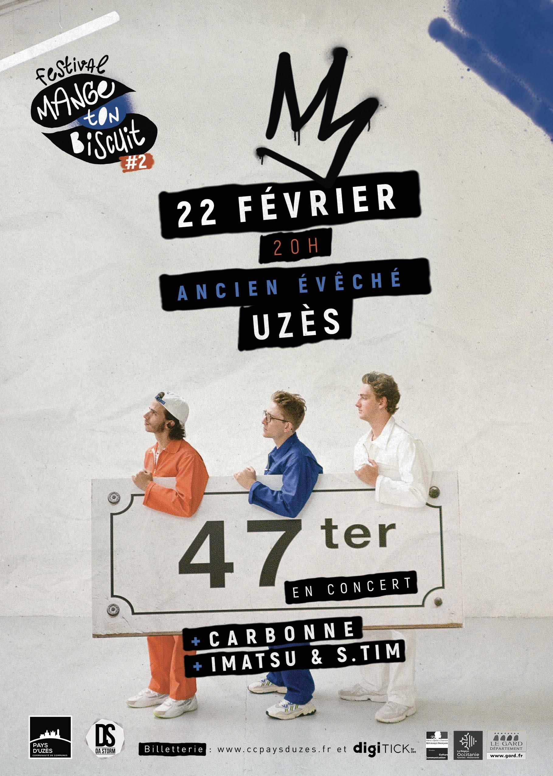 Concert 47 Ter + invités (HIP HOP)