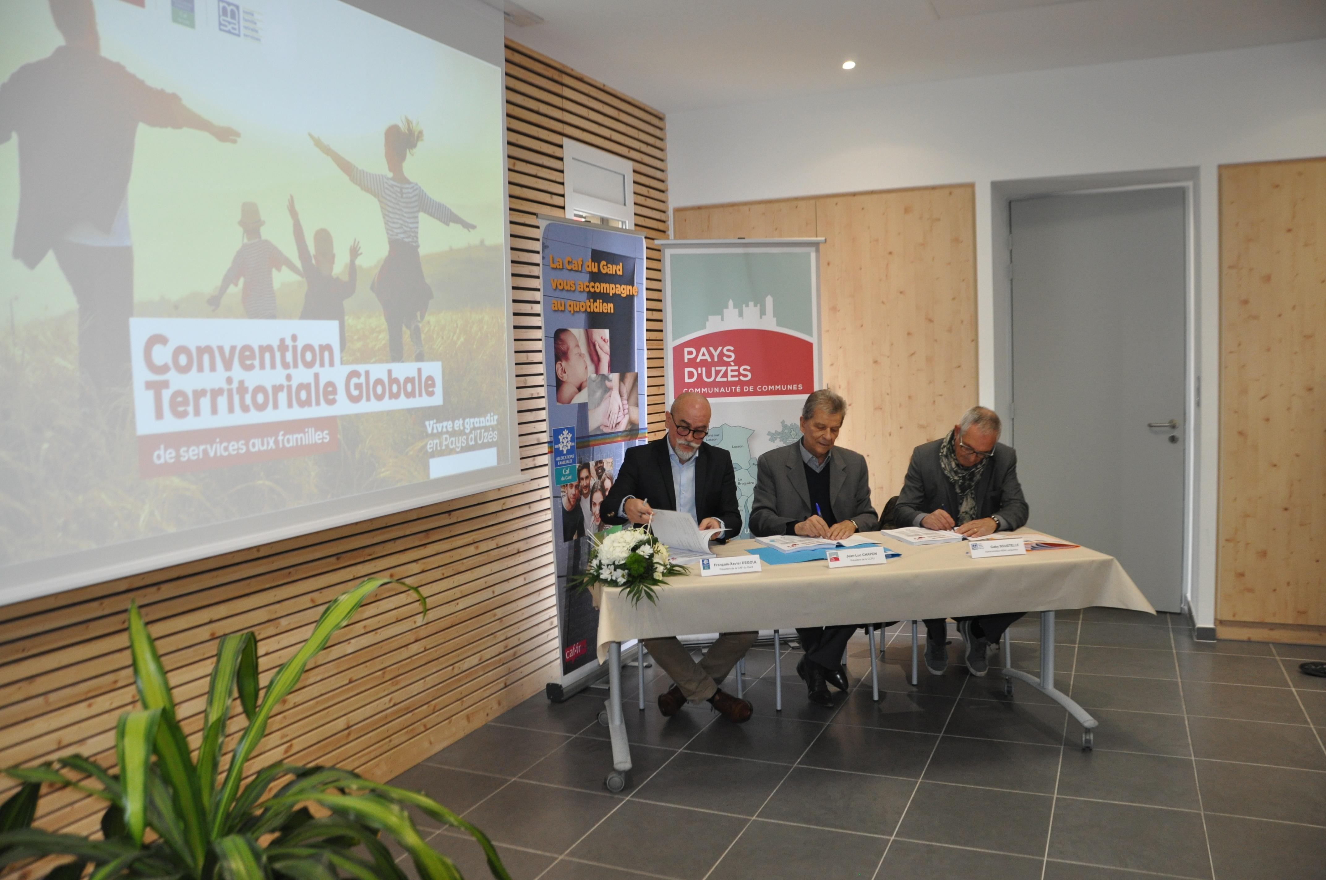 Convention Territoriale Globale de Services aux familles