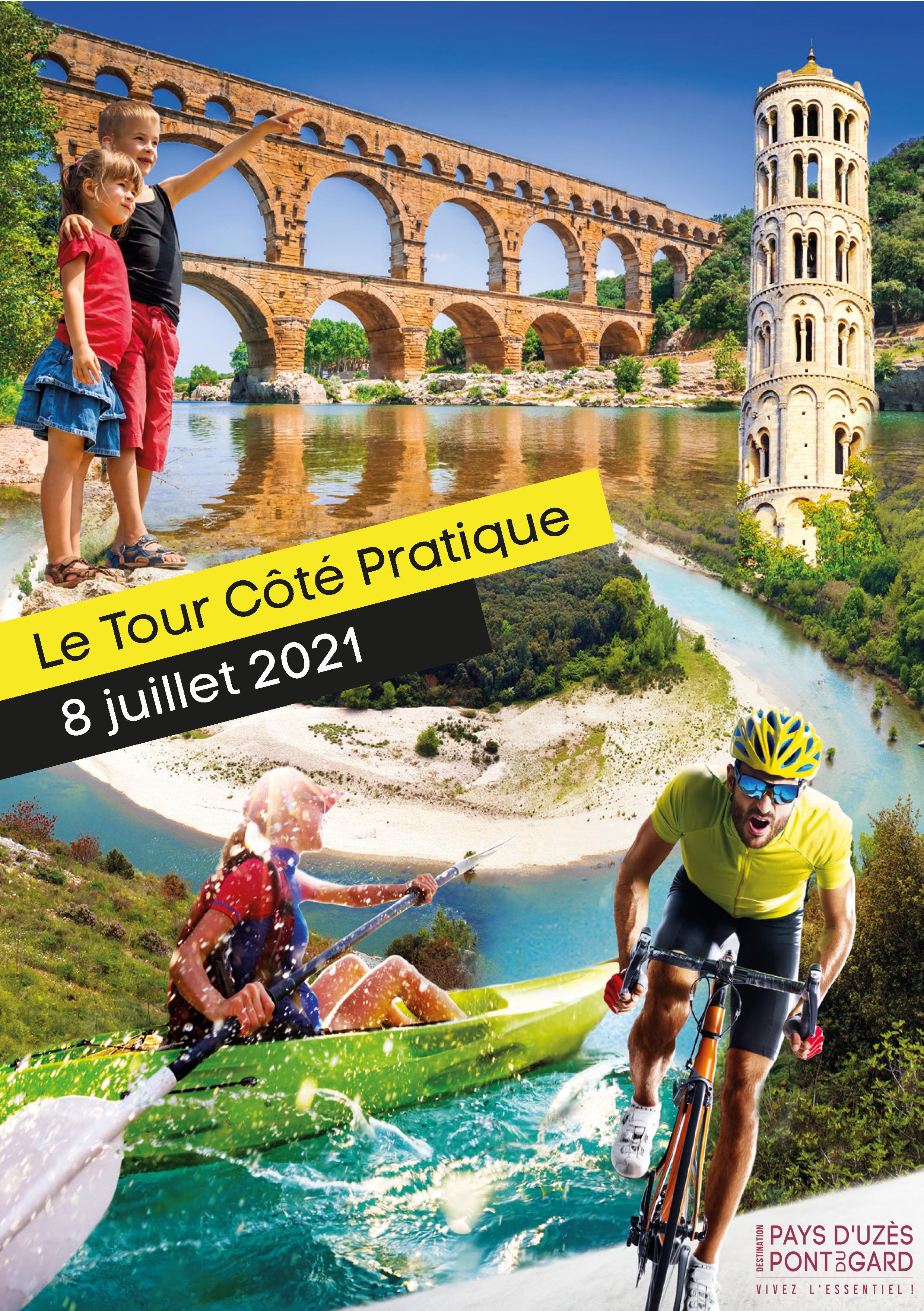 Le Tour de France en Uzège