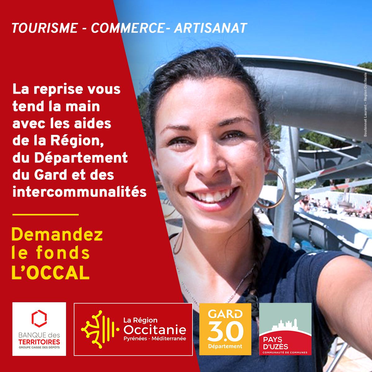 Fonds L'OCCAL : un pack pour la relance de l'activité touristique et commerciale