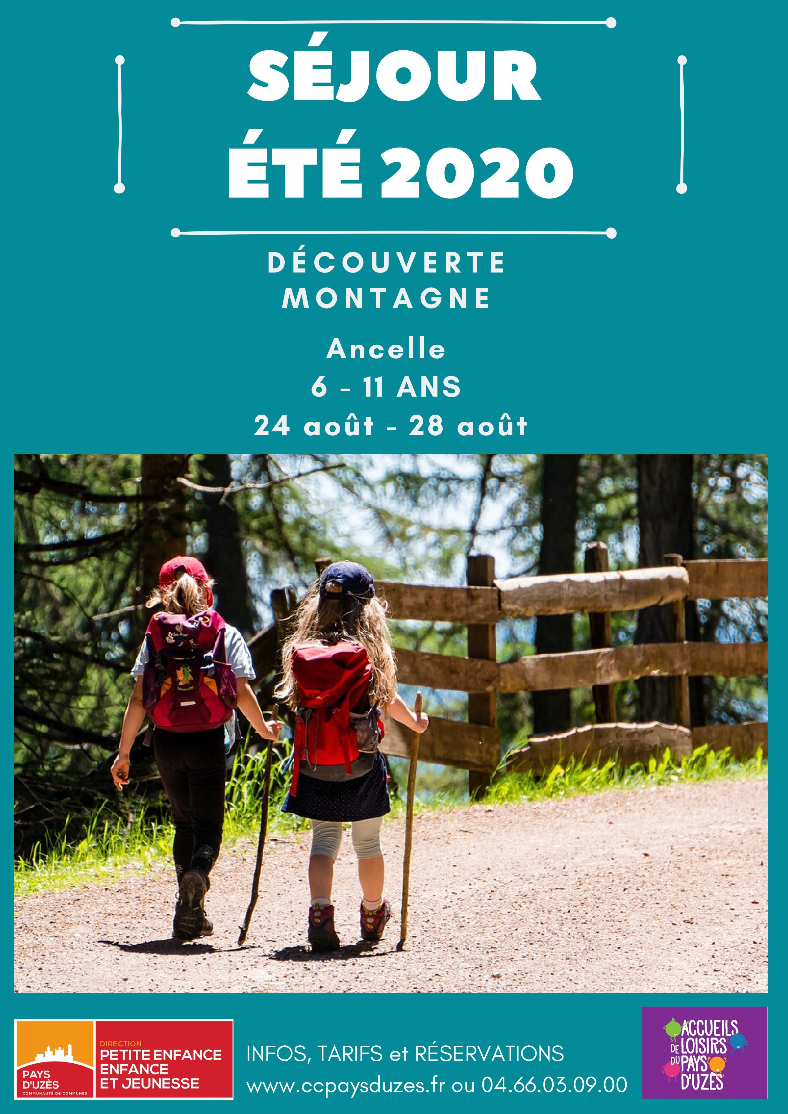 Séjour Été 2020