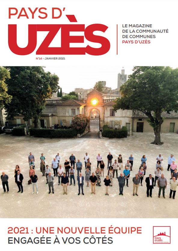 Le magazine Pays d'Uzès n°14