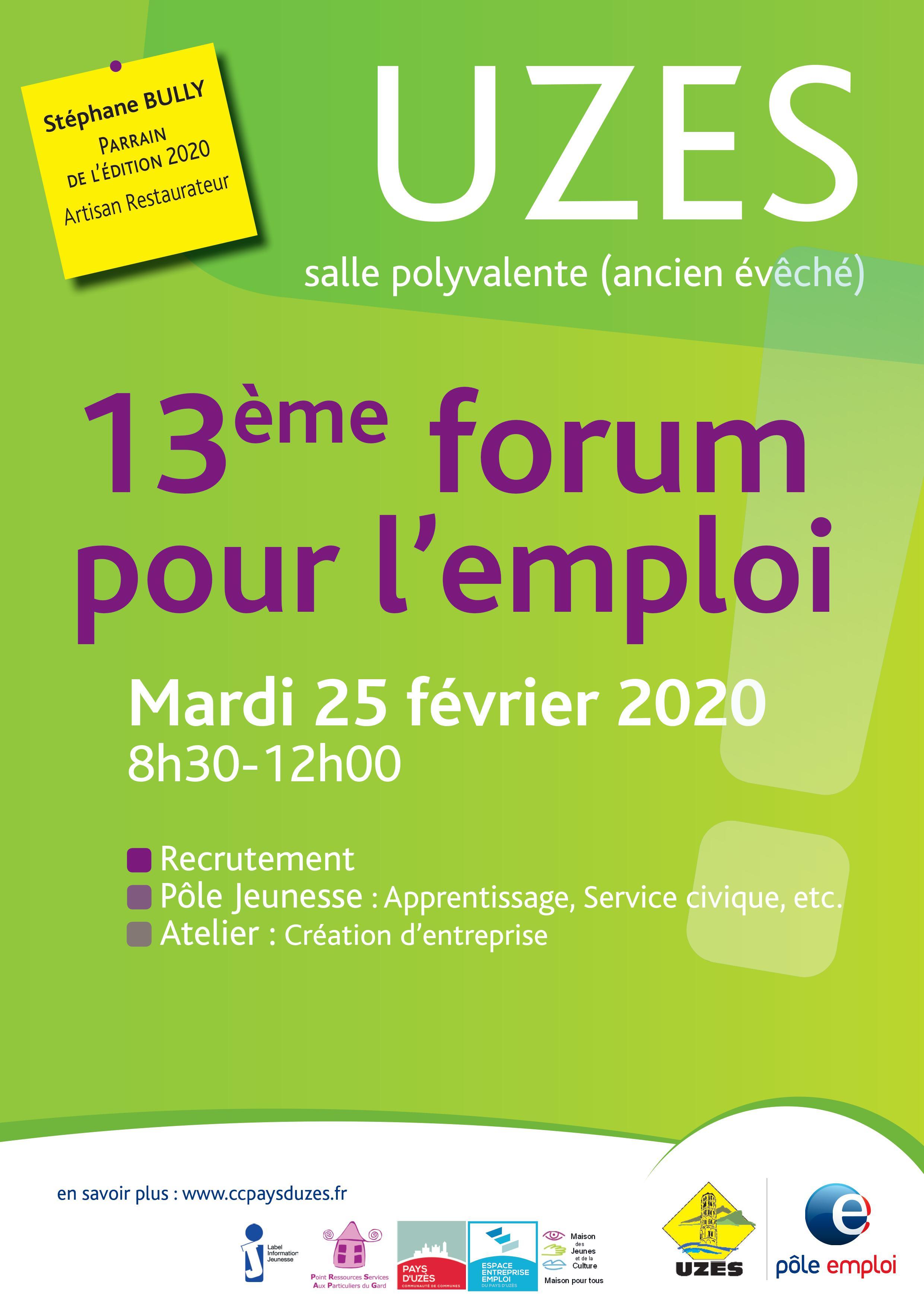 13ème Forum pour l'Emploi